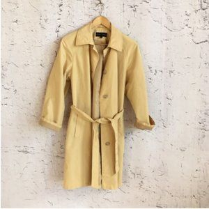 GALLERY YELLOW TRENCH COAT 8